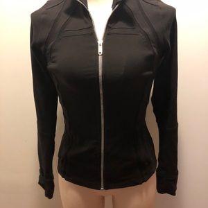 Black Lululemon zip us sweater
